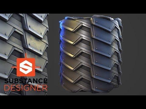 Substance Designer - Industrial Material