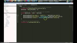 PHP - Approche MVC