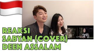 Orang Korea Reaksi DEEN ASSALAM - Cover by SABYAN Reaction