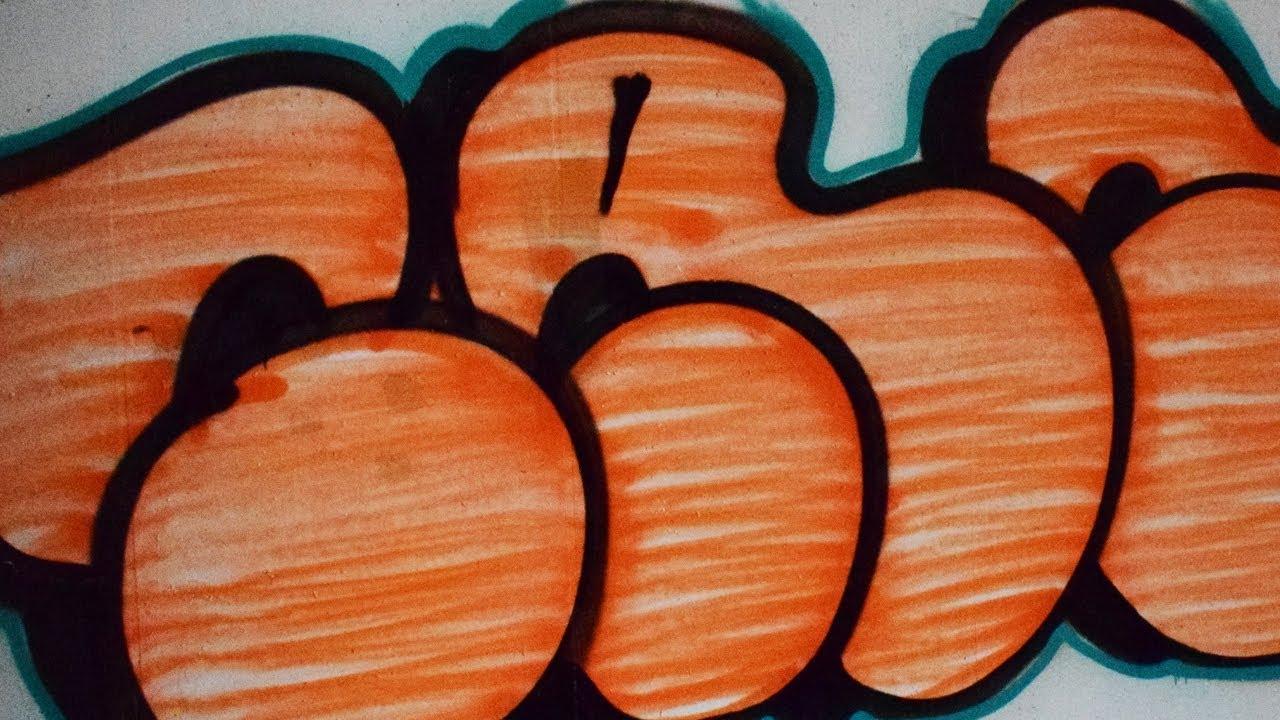 GRAFFITI - Tank - Throw Up - Ceylon Orange - YouTube