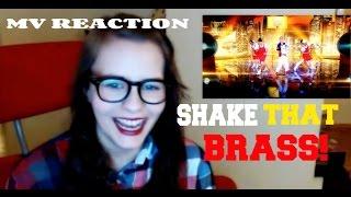 AMBER - SHAKE THAT BRASS MV REACTION 엠버 Feat. 태연