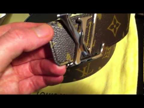 866636bea2afd Louis Vuitton Monogram Initiales Belt Reversible Review   Unboxing - YouTube