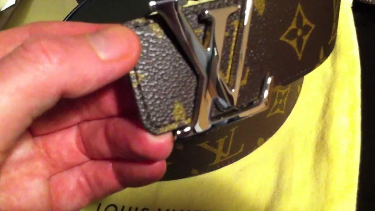 Sonderverkäufe Professionel außergewöhnliche Auswahl an Stilen und Farben Louis Vuitton Monogram Initiales Belt Reversible Review / Unboxing