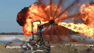 Установка для сжигания нефтяного газа
