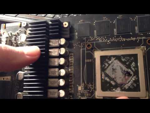Radeon 6870 Cooler replacement on Arctic Cooling Accelero L2 Plus / Замена кулера на...