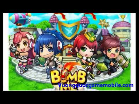 Bom Bom Mobile Online Game Ban Sung Toa Do Gunny   YouTube