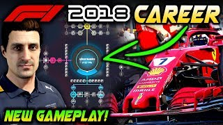 F1 2018 Gameplay: NEW CAREER MODE R&D UPGRADE & REGULATION CHANGE GAMEPLAY! (F1 2018 Game)