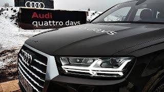 Тест Audi Q7 2017