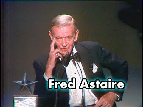Fred Astaire Accepts the AFI Life Achievement Award in 1981