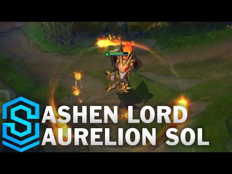 Ashen Lord Aurelion Sol Skin Spotlight - Pre-Release - League of Legends thumbnail