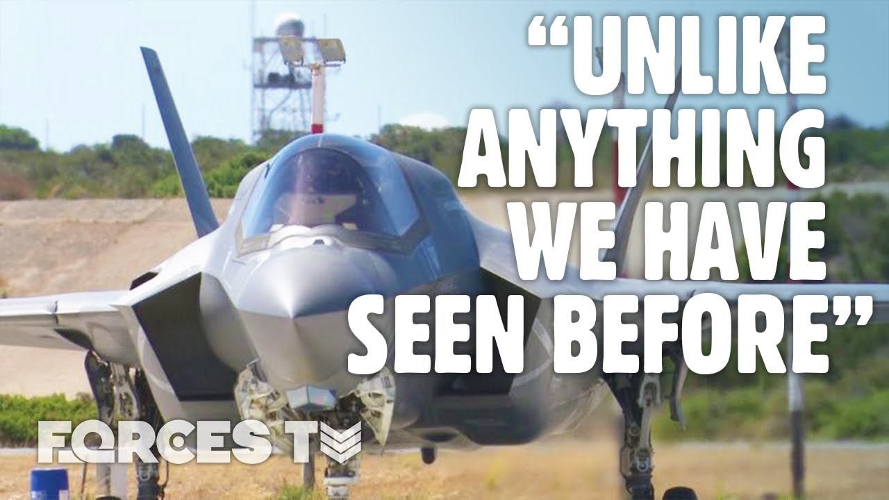 What It's Like To Fly An F-35B... From The Man Inside The Cockpit | Forces TV