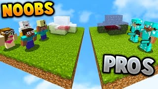TWO PRO'S VS NOOBS! | Minecraft BED WARS with PrestonPlayz