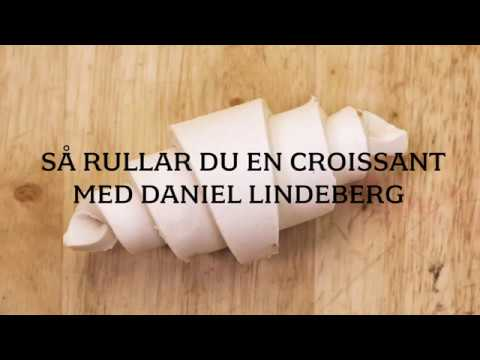 Så rullar du en croissant med bagaren Daniel Lindeberg