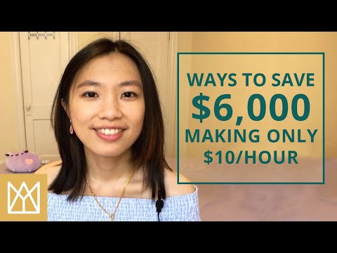 how-to-save-money-on-low-income-|-minimum-wage