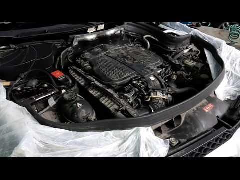 Ремонт мерседес, мерседес глк, 276 мотор,двигатель мерседес, и его проблемы,цепь замена.