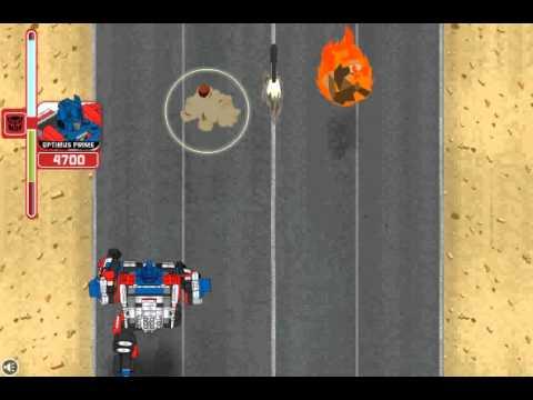 Игра Трансформеры гоночные машины онлайн