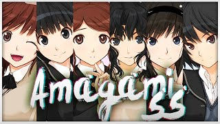 Amagami SS - Обзор.