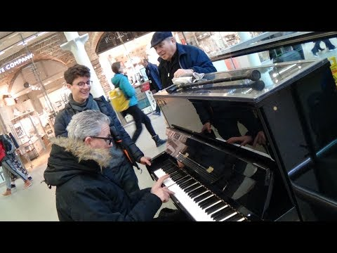 Concert Pianist Attempts To Play Abba - Amazing Cover Version Occurs
