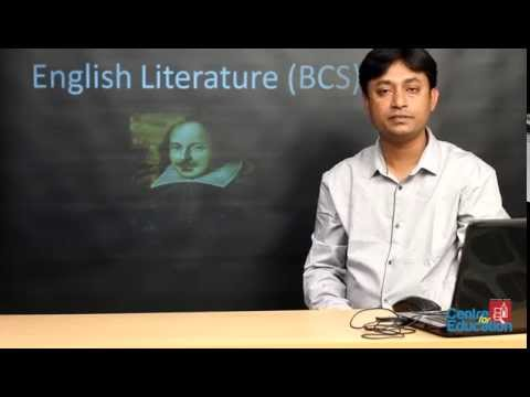 ENGLISH CARE: BCS English Literature Part I