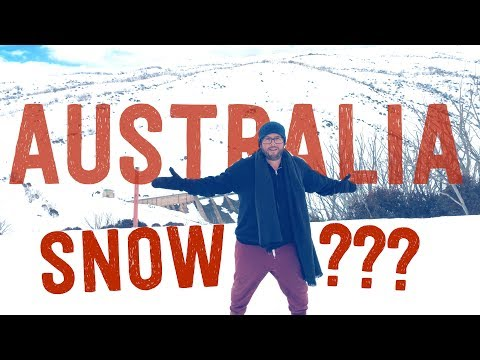 Is it snowing in victoria australia today