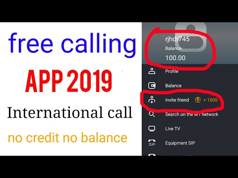 #aalltips #freecall2019   100 min /cheap international free calling app