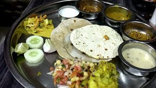 Best Unlimited Veg Thali in India | Shilpa Dinning Hall Nashik | Indian Food | Amazing Food