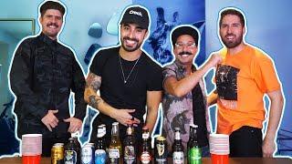 Adivina la cerveza! VS LOS  COMEDIANTES (Alex Fdz, Mau Nieto y Zanassi)