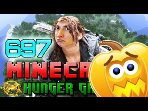 Minecraft: SPOOKY SCARY! Hunger Games w/Bajan Canadian! Game 697