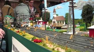 """S"" Gauge Trains Running At The  Delavan Train Show, March 8 & 9, 2014"