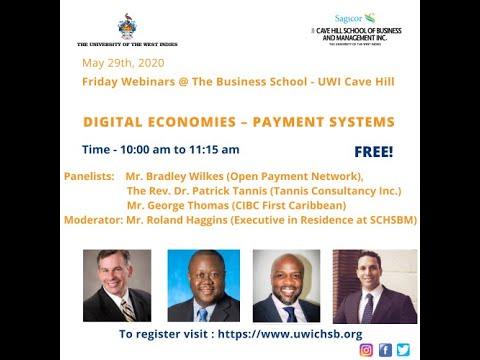 Webinar 7: Digital Economies – Payment Systems