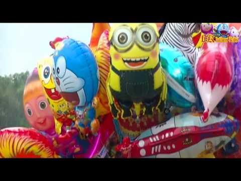 Balon Karakter Mainan Anak-anak - LAGU KARAOKE ANAK-ANAK BANGUN TIDUR