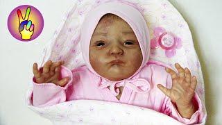 Кукла реборн обзор, распаковка нового реборна reborn doll. Детский канал Victoria Play Виктория Плей