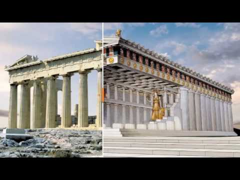 Parthenon Reconstruction - How it Was in Ancient Times