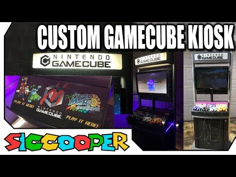 Making A Custom Nintendo Gamecube Demo Station Kiosk! | SicCooper