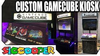 Making A Custom Nintendo Gamecube Demo Station Kiosk!   SicCooper