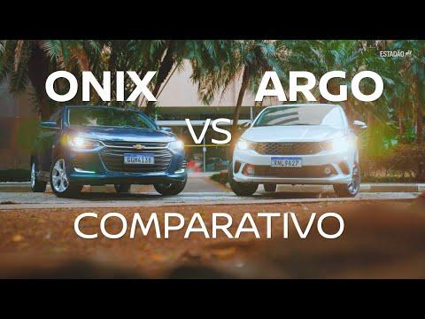 Comparativo: Fiat Argo, em seu melhor momento, encara o Chevrolet Onix