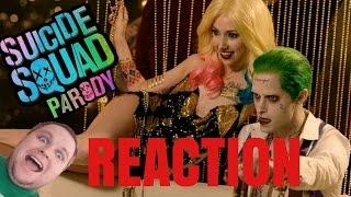 Suicide Squad Parody By The Hillywood Show REACTION