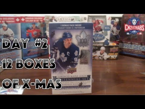 12 Boxes Of Christmas Day #2 | 2017 Toronto Maple Leafs Centennial