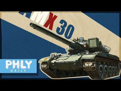 STRONGEST Kinetic Round In The Game | AMX-30 B2 (War Thunder 1.75 Gameplay)