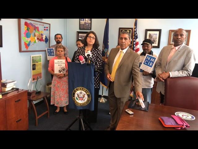 Congresista Espaillat habla de TPS para algunos países