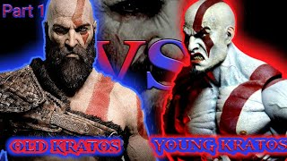 Old Kratos VS Young Kratos | Gaming Generation | Fever Grasp