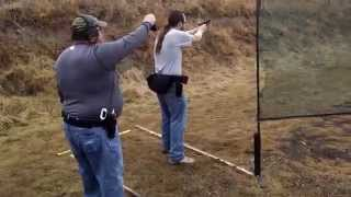 Ankeny Ikes AIPS USPSA 2014-12-13 Stage 4 - James F
