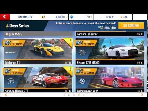 Asphalt 8 McLaren P1 GTR Maxing and Pro Tuning (4,0,4,0.)