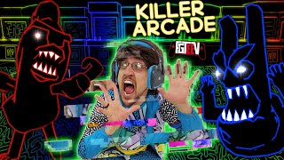 ESCAPE the KILLER ARCADE!  FGTeeV gets sucked INTO THE GAME!