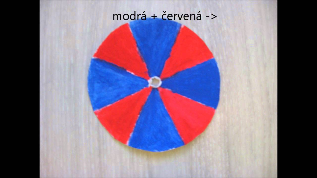 baf12f592 Aditivní míšení barev — Sbírka pokusů