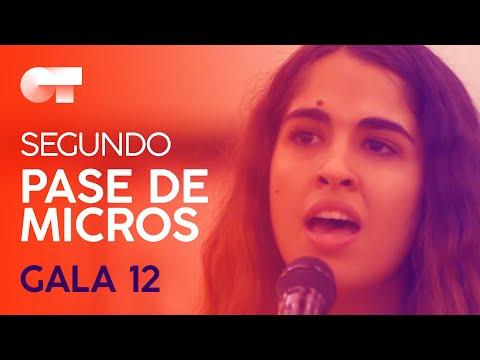 """NANA DEL MEDITERRÁNEO"" - ANAJU | SEGUNDO PASE DE MICROS GALA 12 | OT 2020"