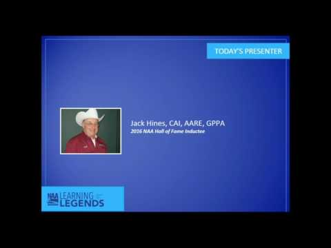 Learning from the Legends: Jack Hines, CAI, AARE, GPPA