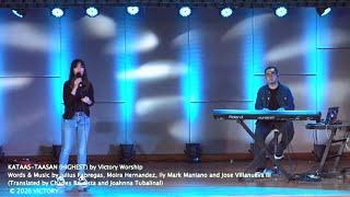 Kataas-taasan (Highest) by Victory Worship | Live Worship led by Victory Katipunan Music Team