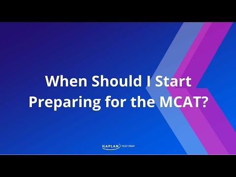 When Should I Start Preparing For The MCAT?