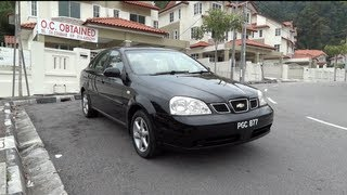 2004 Chevrolet Optra Start-Up, Full Vehicle Tour and Quick Drive